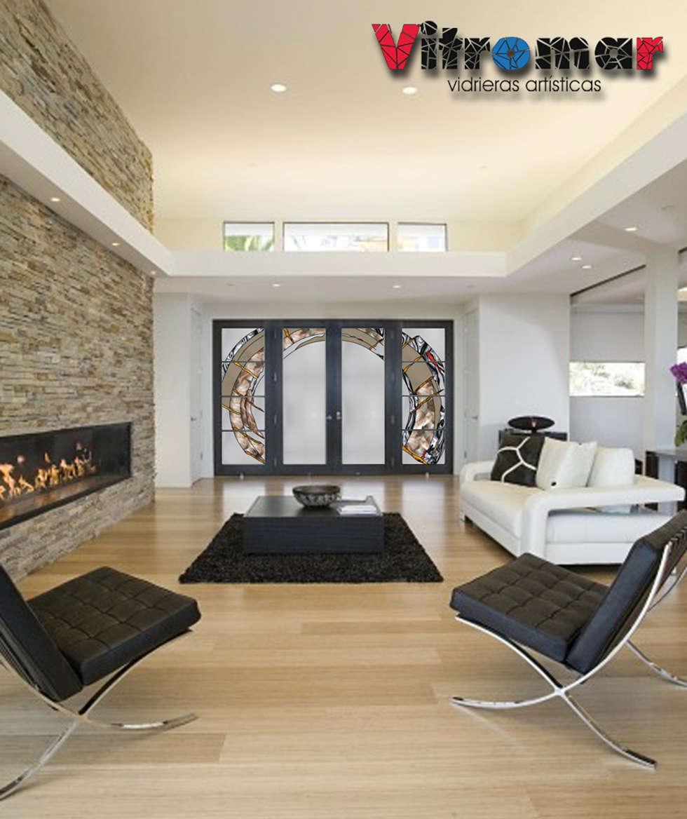 puertas entrada comedor abstracto frontal puertas y ventanas de estilo moderno de vitromar vidrieras artsticas