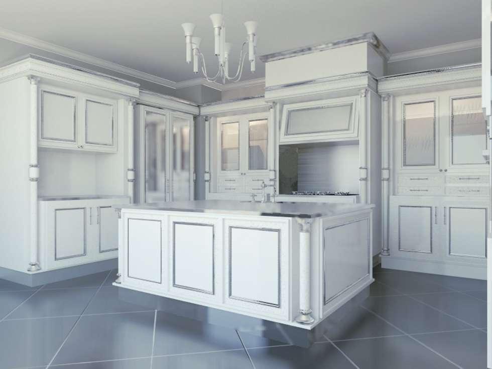 Cantu_kitchen: Cucina in stile in stile Classico di elisalage