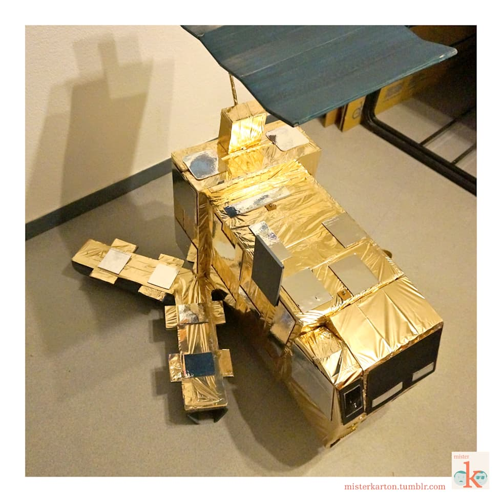 Satellite Metop : Centre d'expositions de style  par mister K