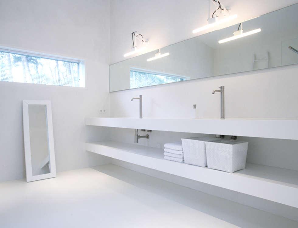 Idee n inspiratie foto 39 s van verbouwingen homify - Mooie moderne badkamer ...