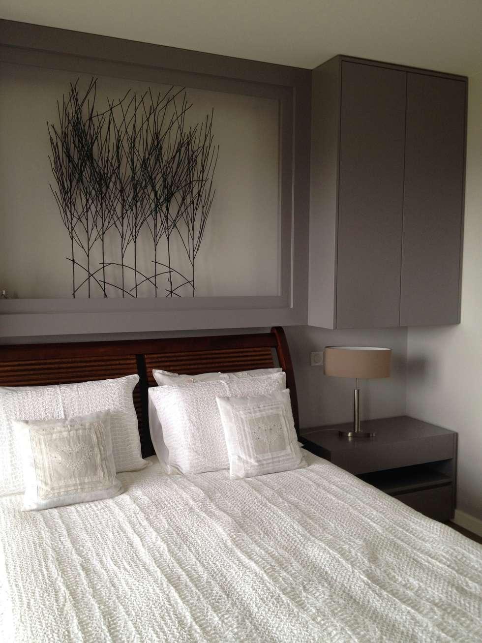 Chambre Adultes: Chambre de style de style Moderne par Texture Designed by G.