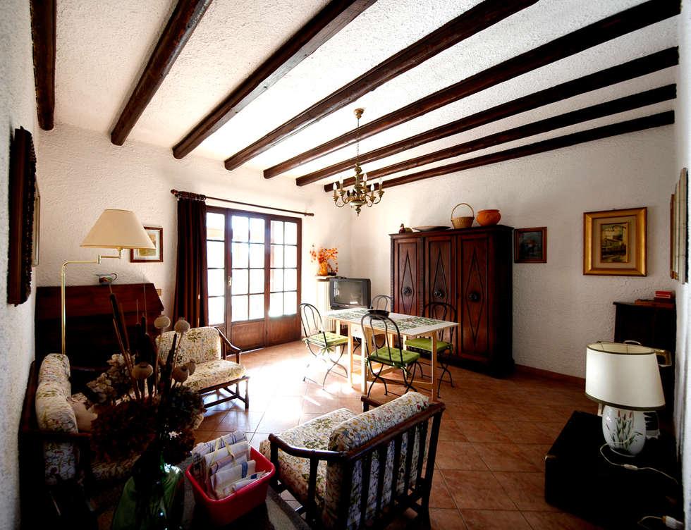 foto di soggiorno in stile in stile rustico : villa lago maggiore ... - Soggiorno Lago Maggiore