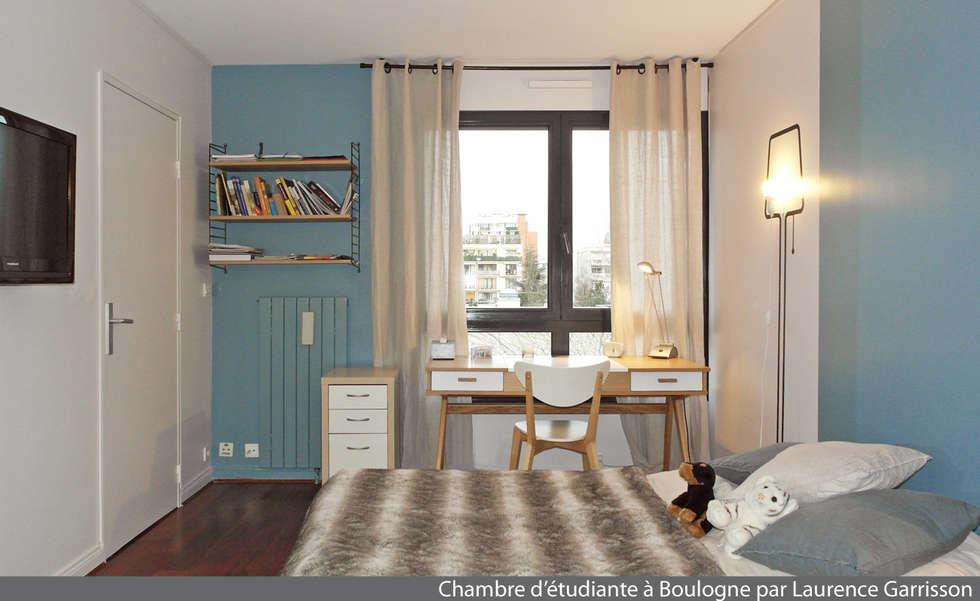Chambre scandinave : Chambre de style de style Scandinave par La Decorruptible