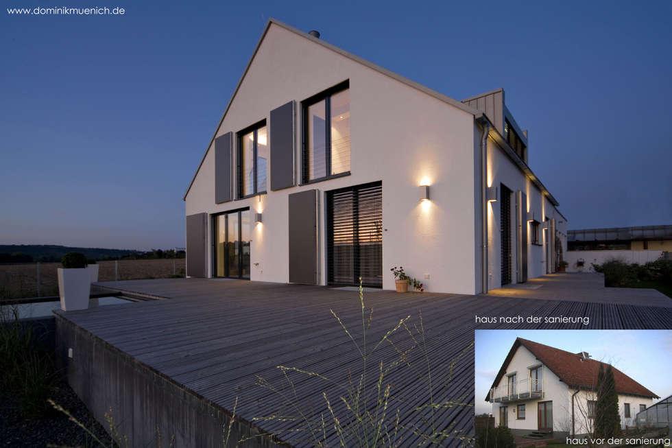 generalsanierung am pflanzgarten 20, regensburg: moderne Häuser von Architekturbüro Ferdinand Weber