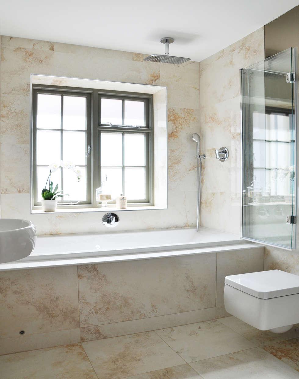 Traditional main bathroom design: classic bathroom by studio to | homify