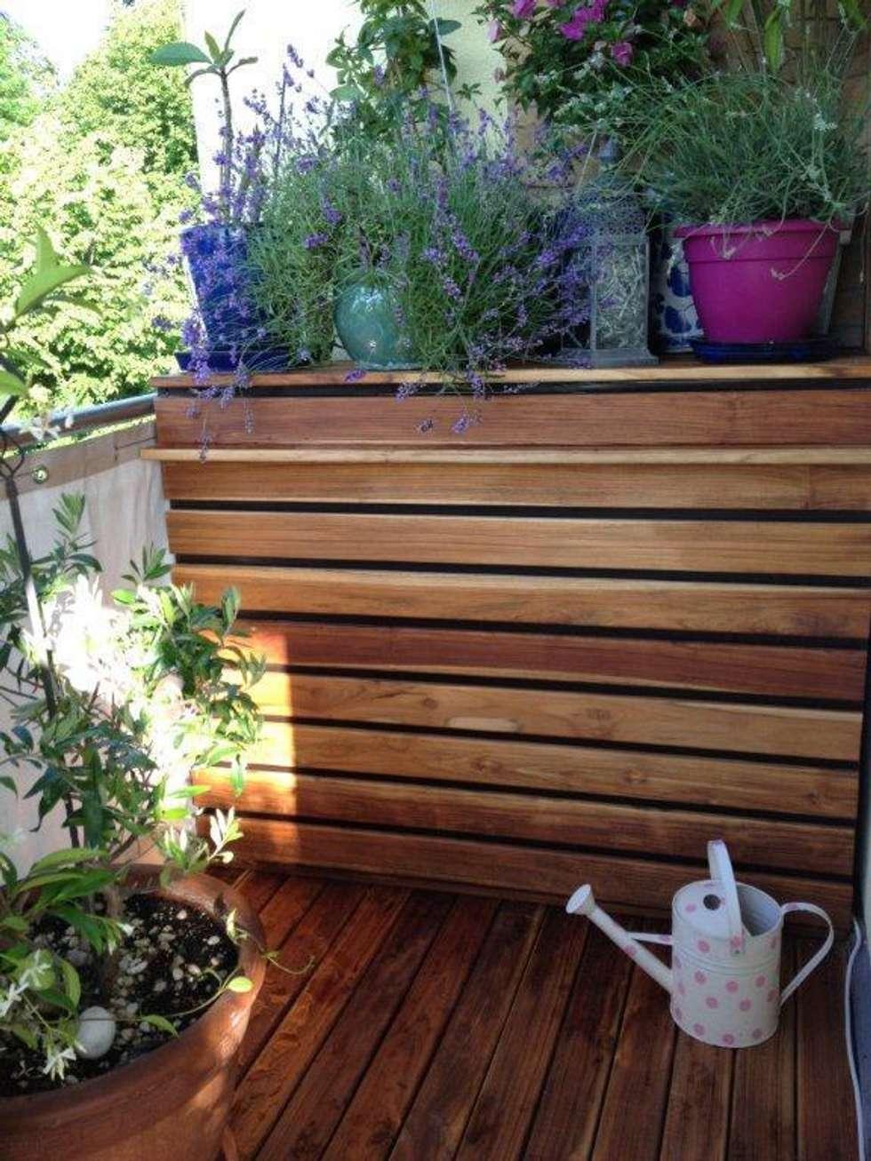 Holzterrasse M Nchen idee arredamento casa interior design homify