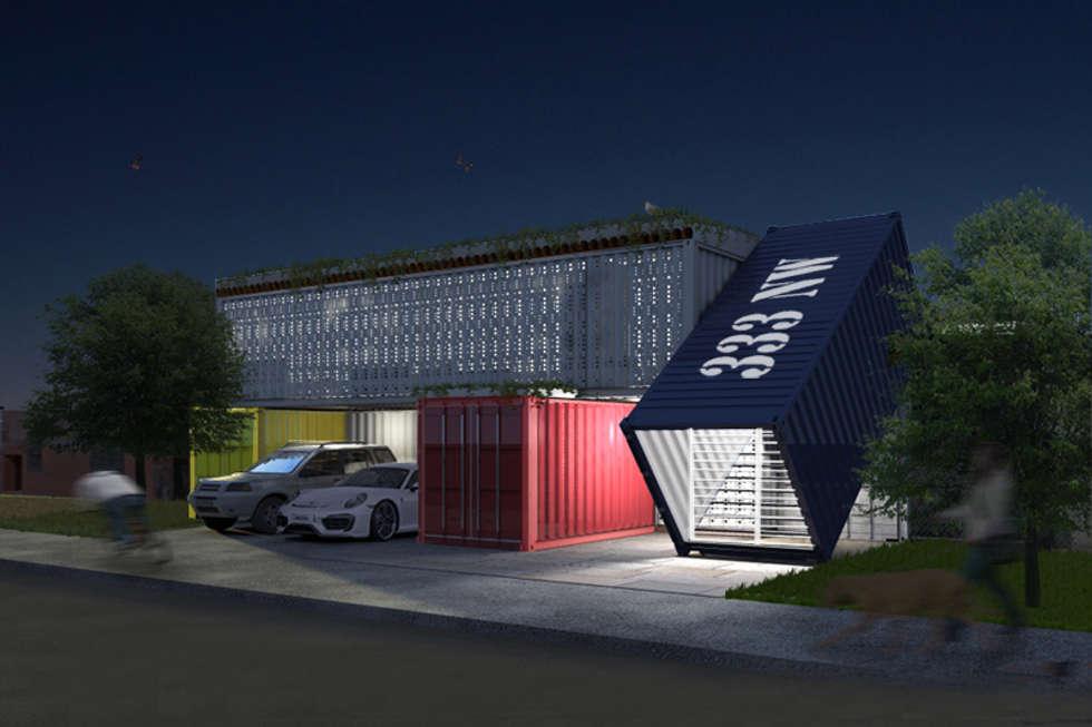 Wohnideen interior design einrichtungsideen bilder homify - Container homes miami ...