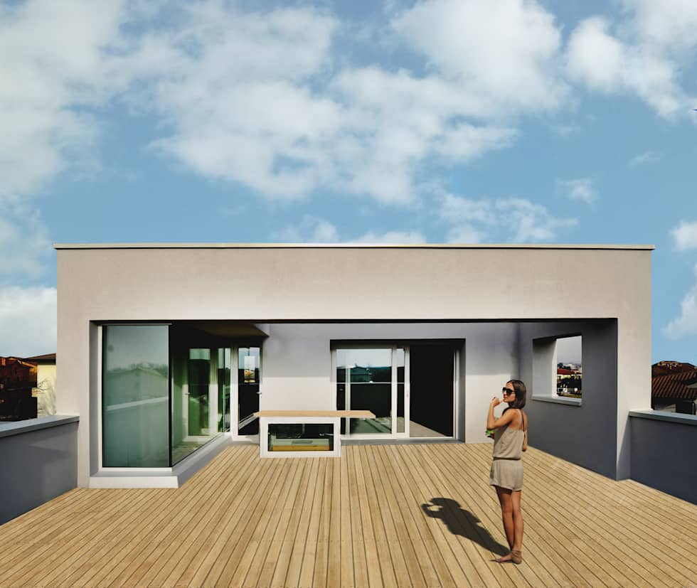 Idee arredamento casa interior design homify for Casa unifamiliare tradizionale