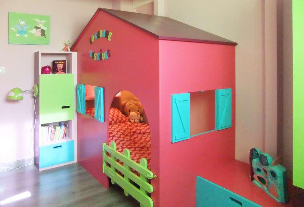 Chambre d'enfant: Chambre d'enfant de style de style Moderne par HOME feeling