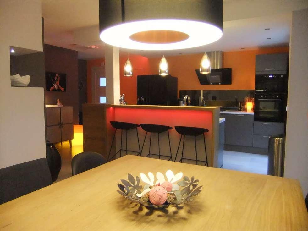 Cuisine, bar & salle à manger: Salle à manger de style de style Moderne par HOME feeling