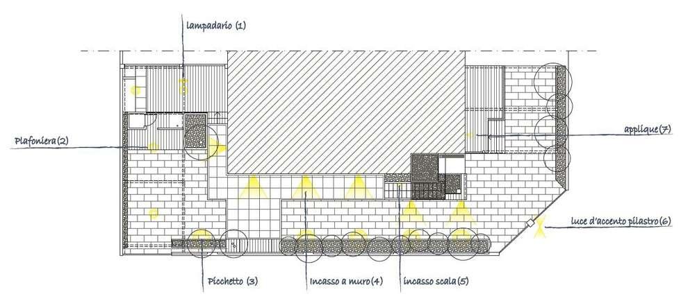 Giardino : Giardino in stile in stile Mediterraneo di CAFElab studio