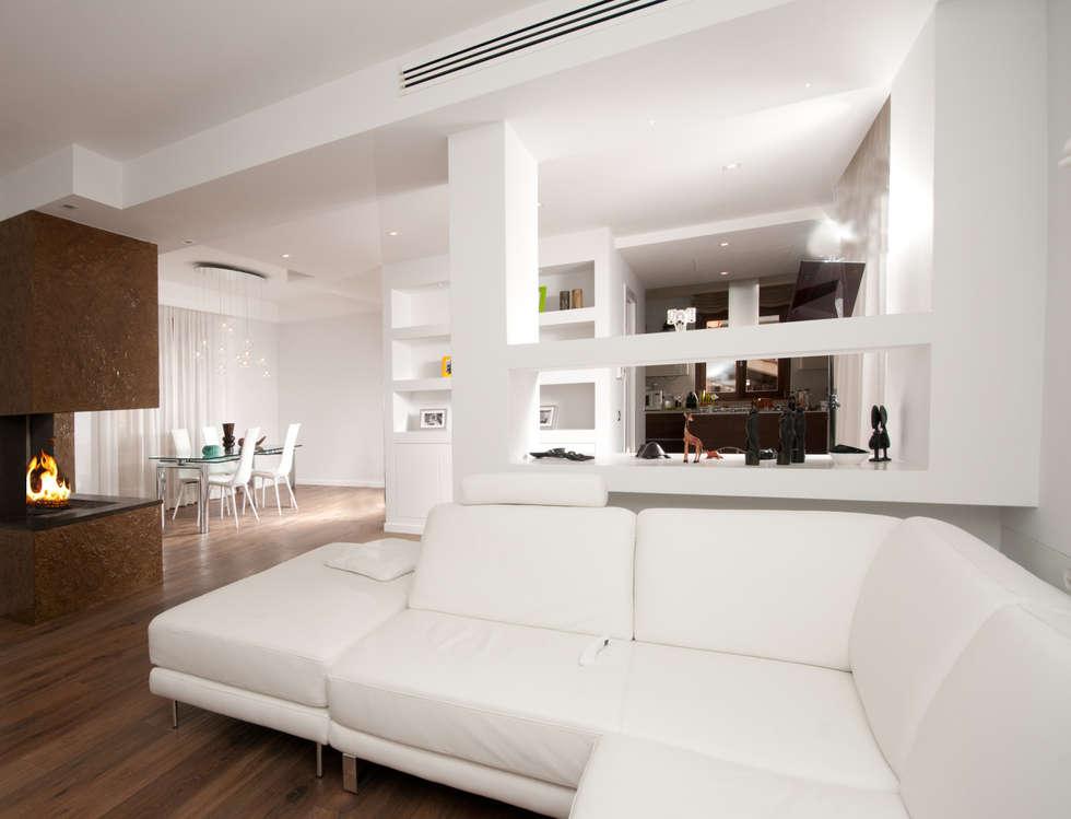 Idee arredamento casa interior design homify for Ristrutturazione a pianta aperta su due livelli