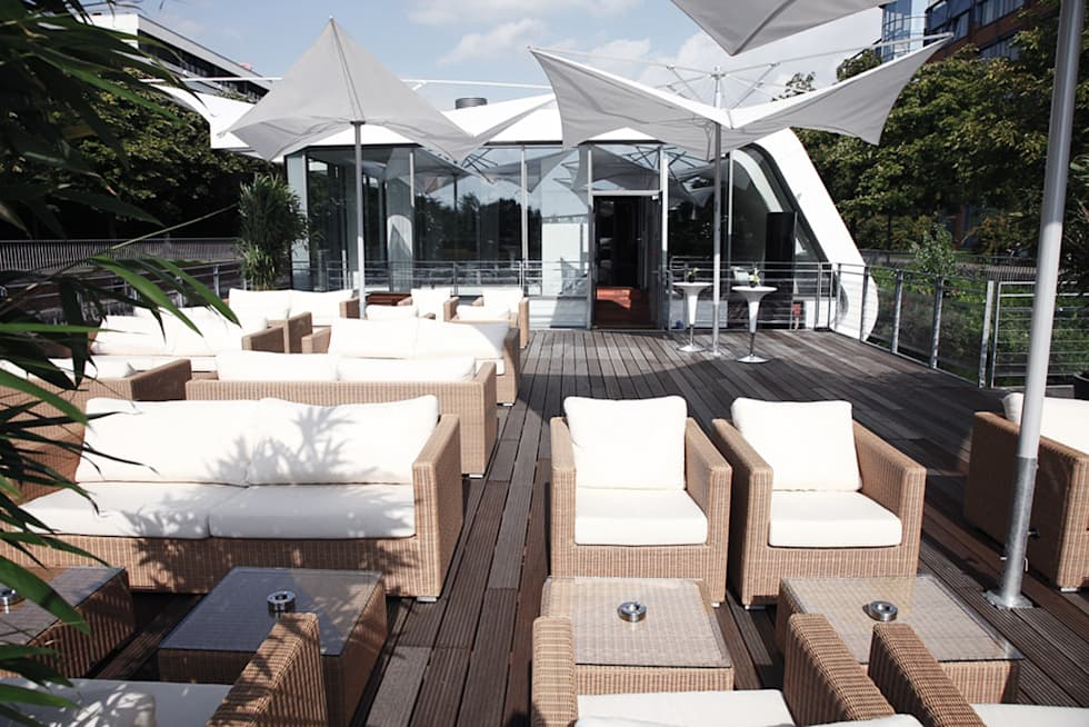 Schwimmende Terrasse - Floating Homes C-Type:  Gastronomie von FLOATING HOMES