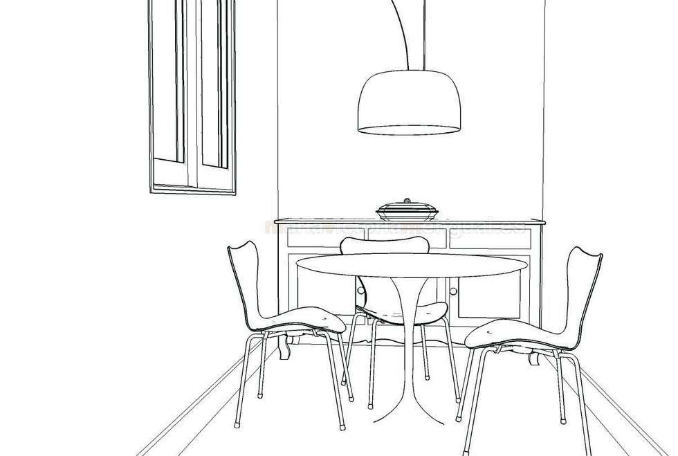 Fotos de decoraci n y dise o de interiores homify - Boceto interiorismo ...
