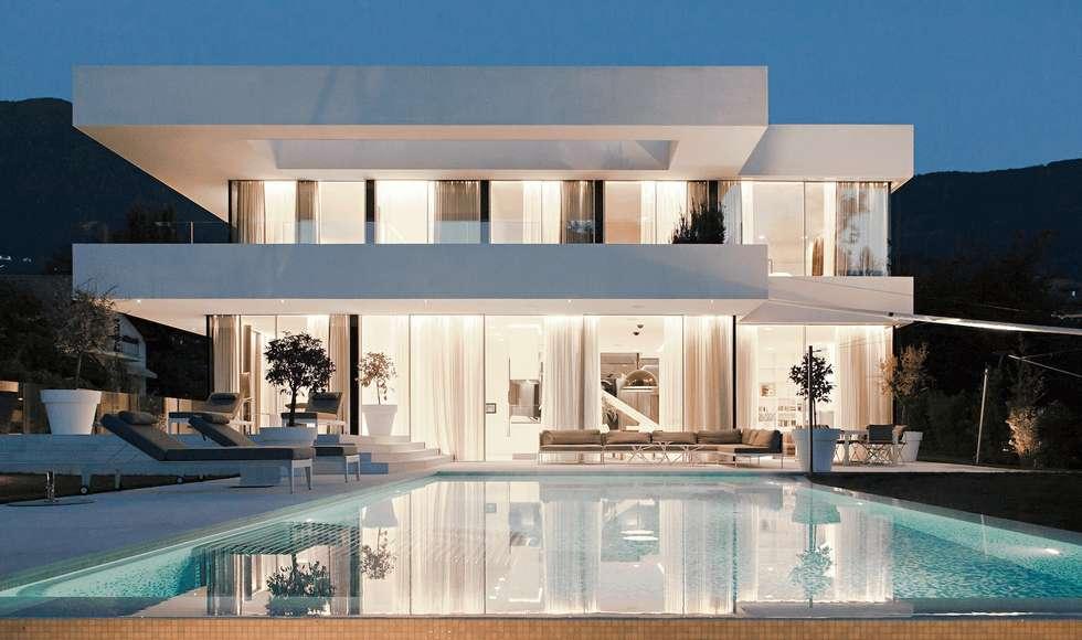 moderner Pool von monovolume architecture + design