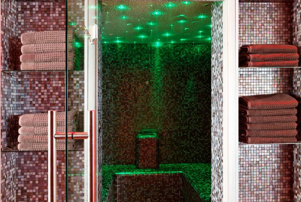 Redesign Country Hotel: modernes Spa von Elke Altenberger Interior Design & Consulting