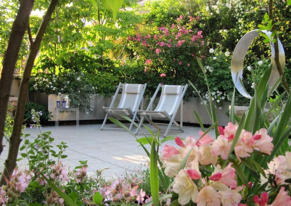 Terrasse Bilder von MASSIMO SEMOLA PROGETTAZIONE GIARDINI MILANO  homify