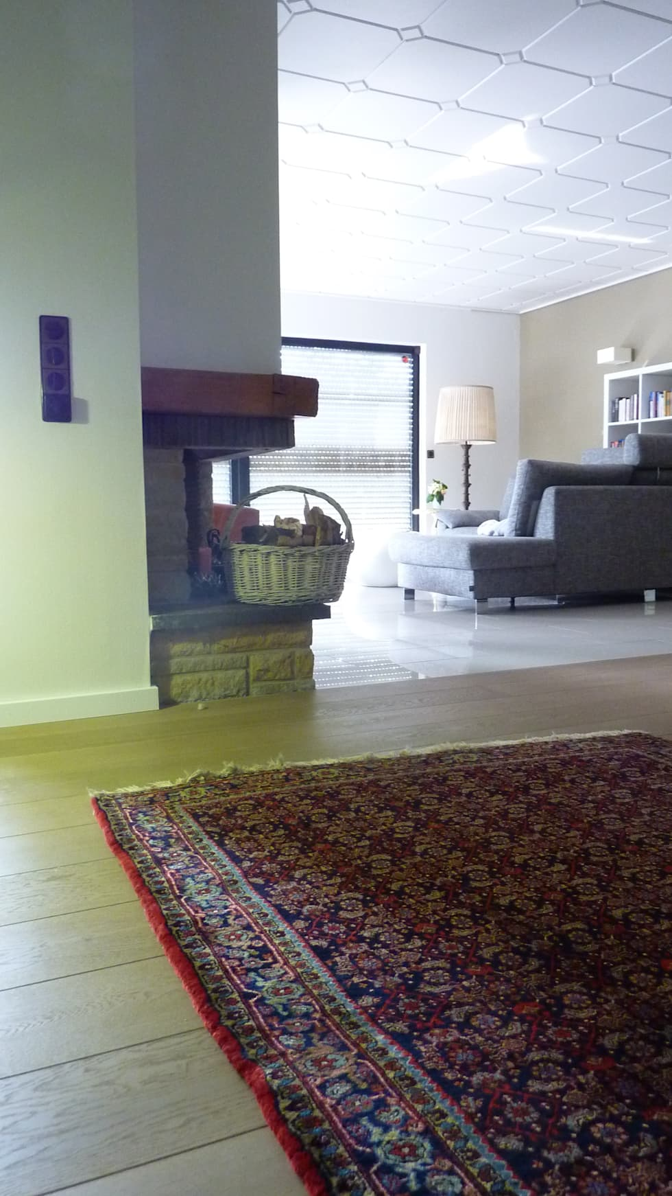 Wohnen - nachher: moderne Wohnzimmer von neue innenarchitektur