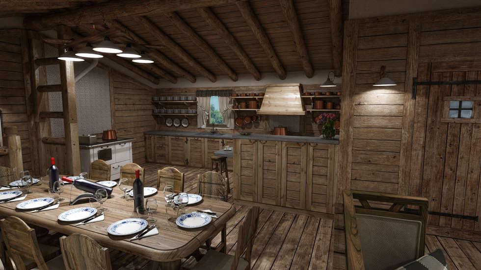 Idee arredamento casa interior design homify for Piani di casa senza sala da pranzo
