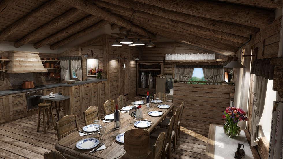 Idee arredamento casa interior design homify for Idee per l aggiunta a casa su due livelli