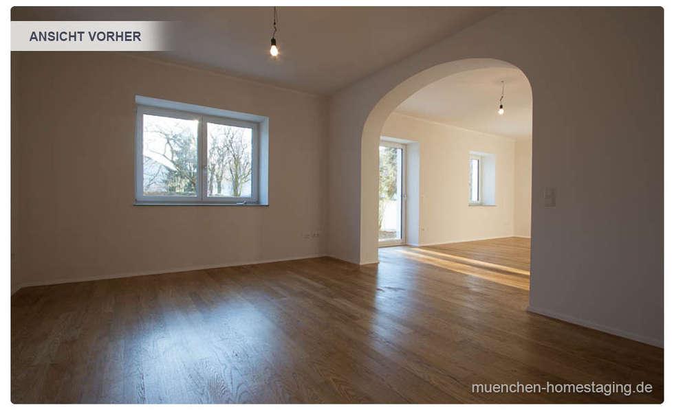Esszimmer ohne Home Staging: klassische Esszimmer von Münchner HOME STAGING Agentur