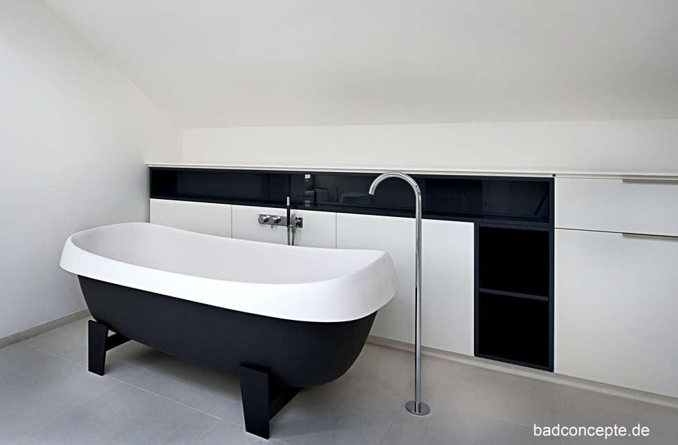 Bad03: klassische Badezimmer von badconcepte