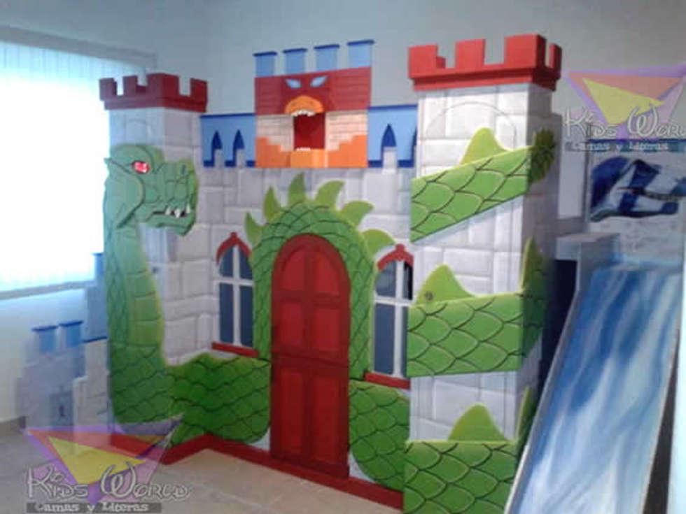 Ideas im genes y decoraci n de hogares homify - Fotos camas infantiles ...