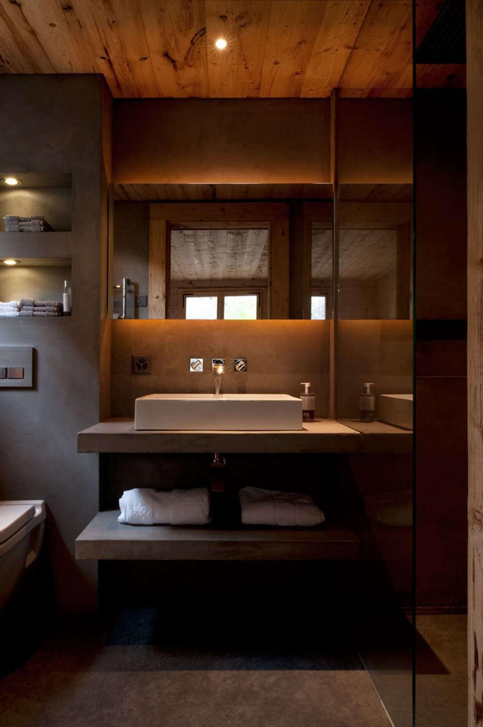 Rustikale Badezimmer Bilder von Ardesia Design  homify