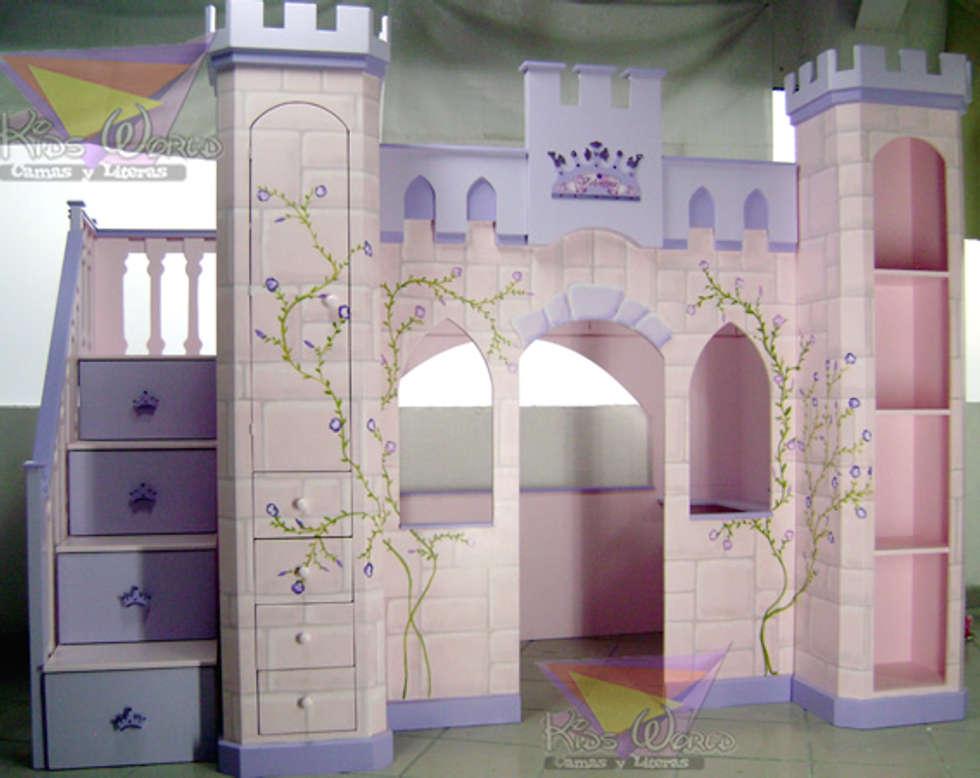 distinguido castillo para nias infantiles de estilo por camas y literas infantiles kids world