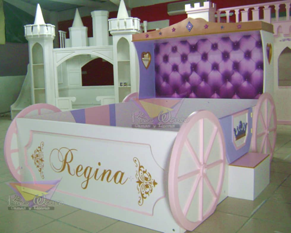 cama para nias carroza infantiles de estilo por camas y literas infantiles kids world