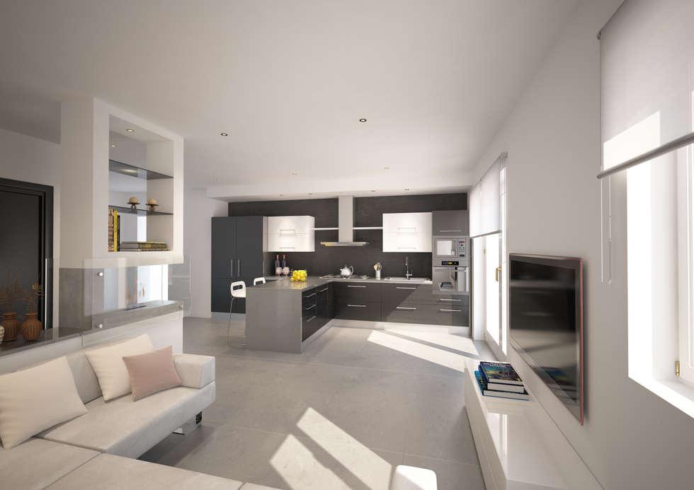 Casa PP - Siena:  in stile  di Architetto  Libero Professionista