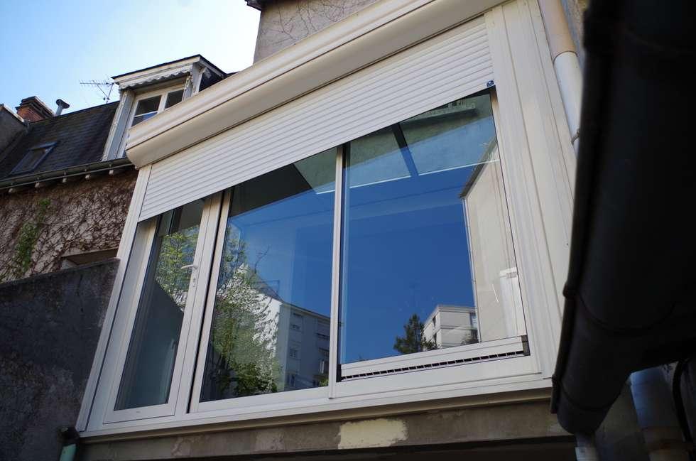 L'extension: Fenêtres de style  par Christèle BRIER Architechniques