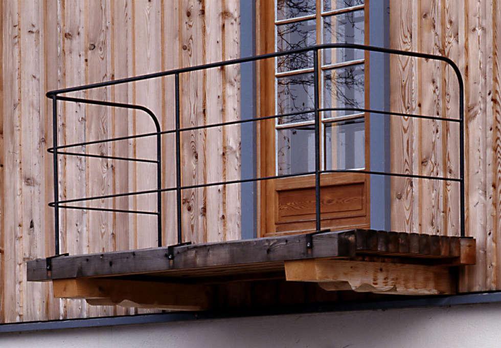Balkon:  Terrasse von Gabriele Riesner Architektin