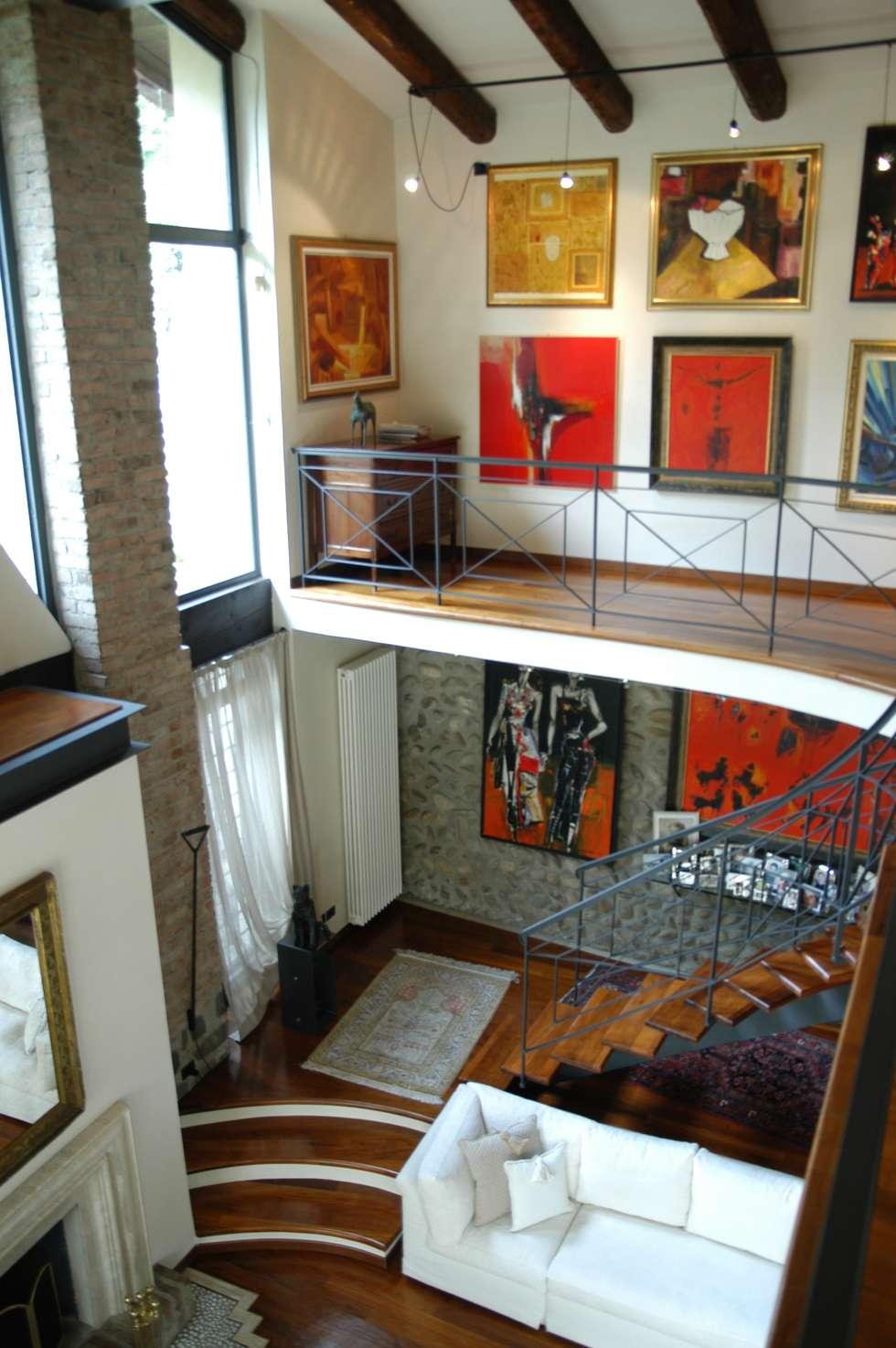 Vista: Case in stile in stile Eclettico di Paolo Gerosa Design Studio