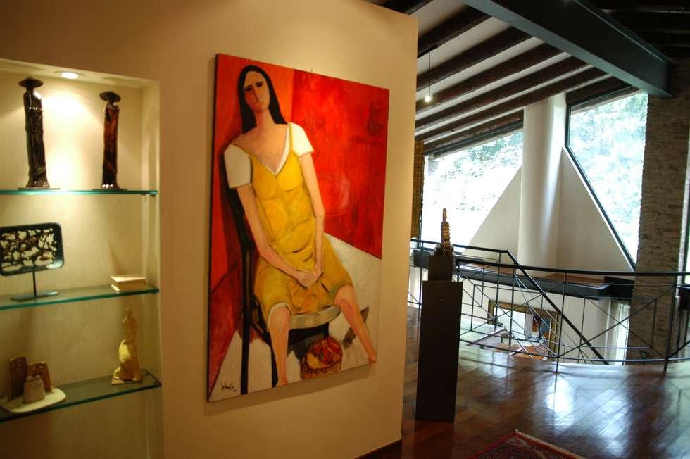 Opere: Case in stile in stile Eclettico di Paolo Gerosa Design Studio