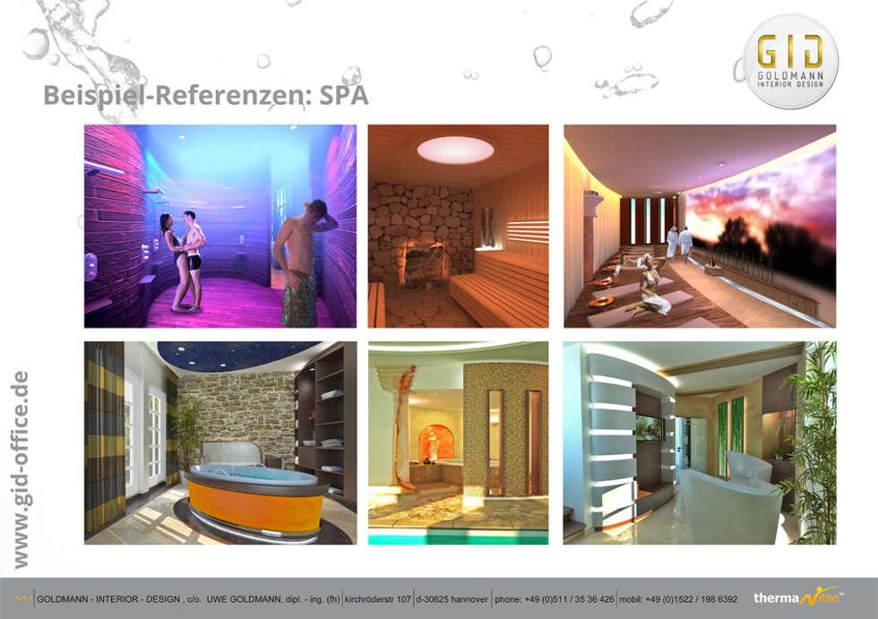 SPA: klassisches Spa von GID│GOLDMANN - INTERIOR - DESIGN