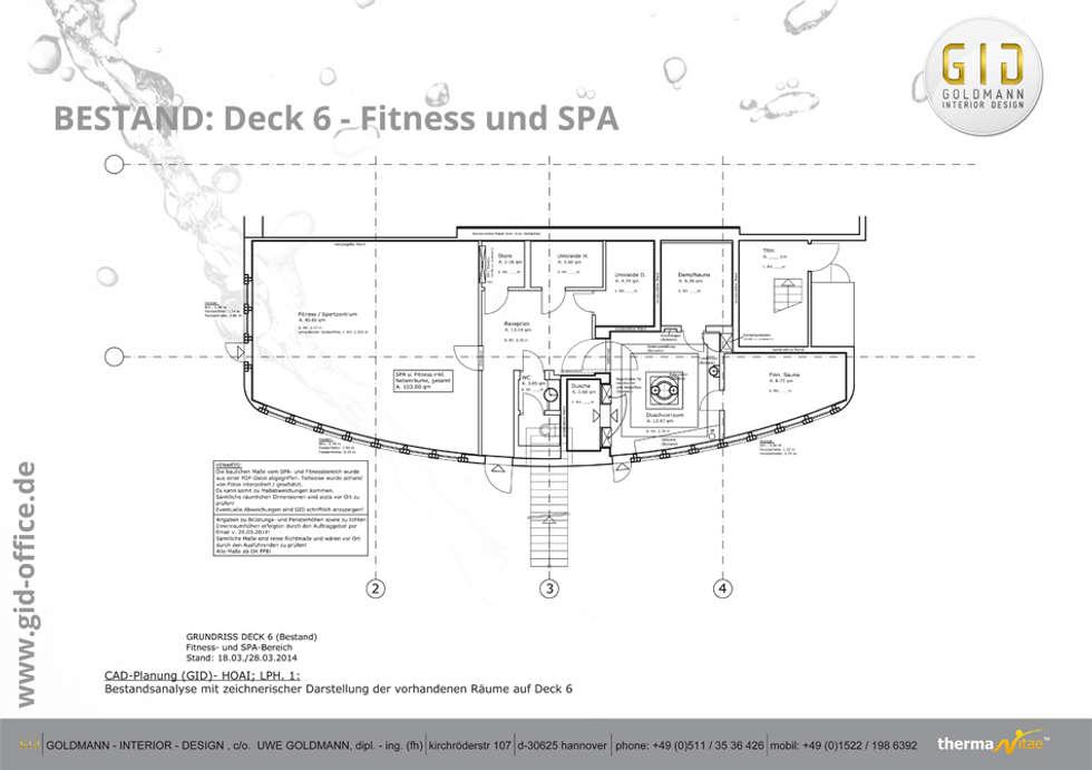 Vorher: klassisches Spa von GID│GOLDMANN - INTERIOR - DESIGN