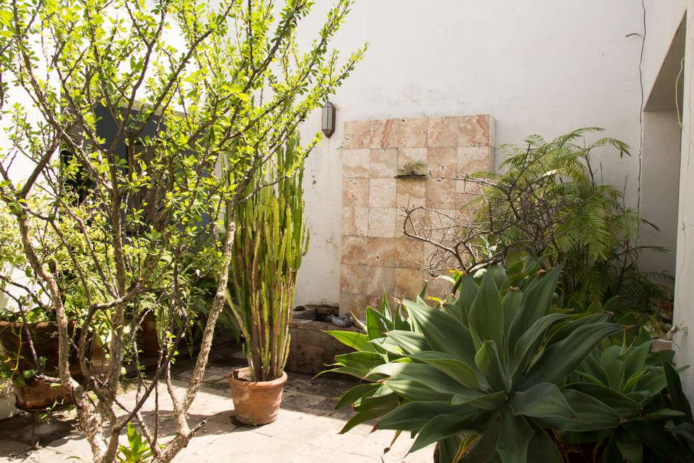 La fuente: Jardines de estilo ecléctico por Mikkael Kreis Architects