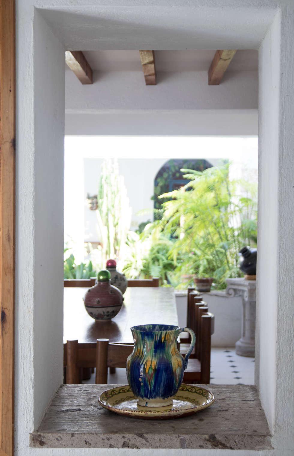 Comunicación: Cocinas de estilo ecléctico por Mikkael Kreis Architects