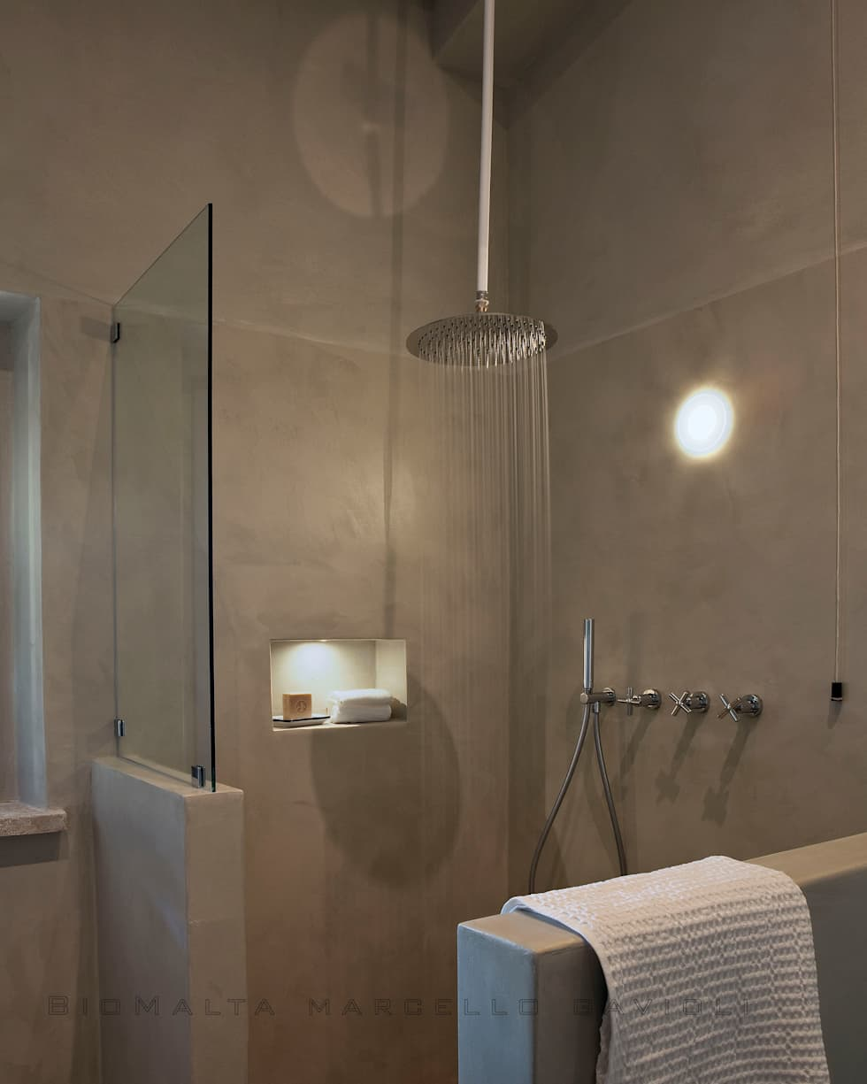 Idee arredamento casa interior design homify for Bagno in resina