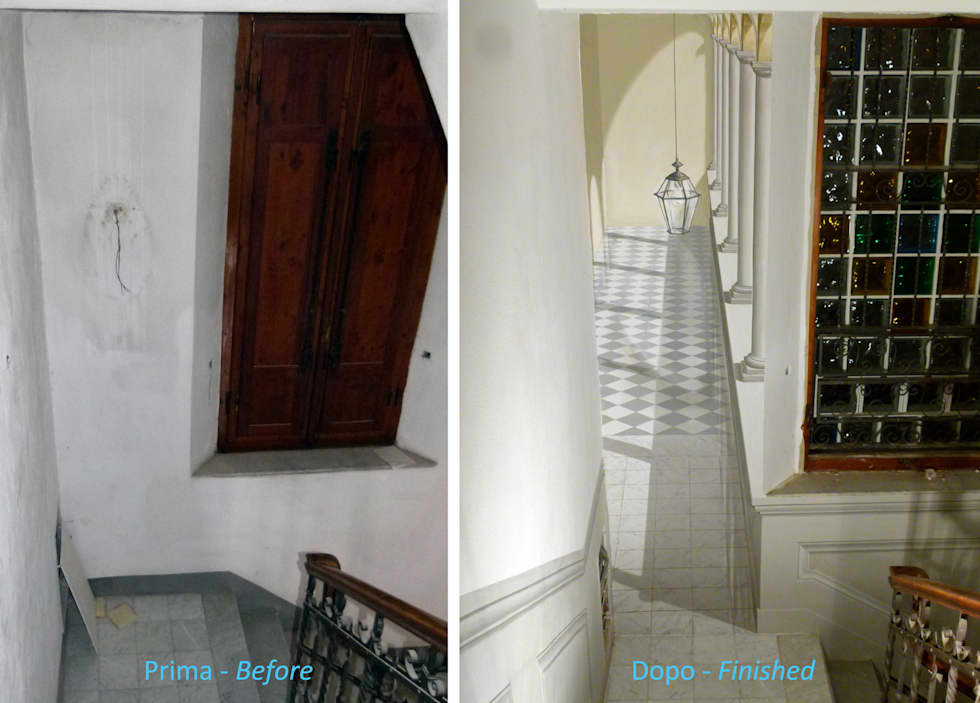 Parete Scala Interna : Idee arredamento casa & interior design homify