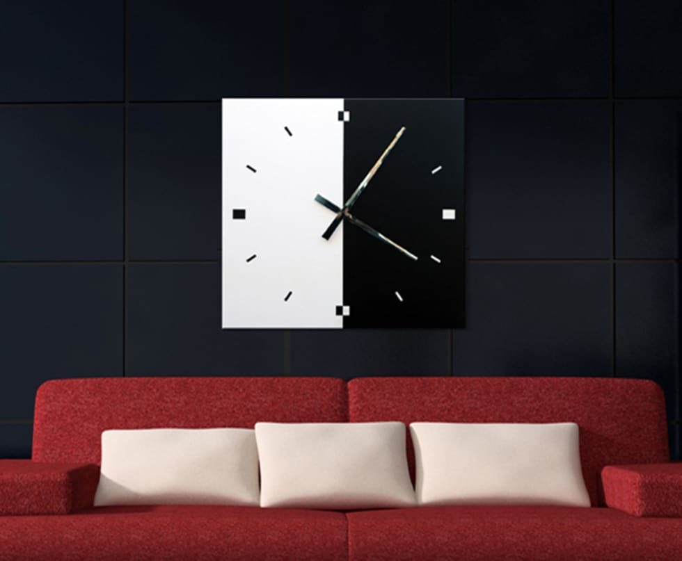 Fotos de decoraci n y dise o de interiores homify - Reloj pared diseno ...