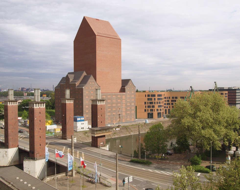 Landesarchiv NRW:  Bürogebäude von Ortner & Ortner Baukunst Ziviltechnikergesellschaft mbH