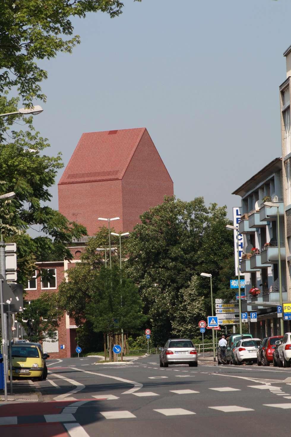 Landesarchiv NRW :  Bürogebäude von Ortner & Ortner Baukunst Ziviltechnikergesellschaft mbH