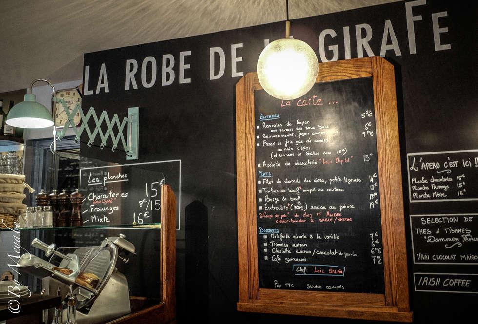 La robe de la girafe: Restaurants de style  par Sandra Dages