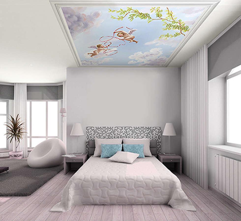 Amazing Papier Peint Plafond Trompe L Oeil 14 Plafond 3d Peintures