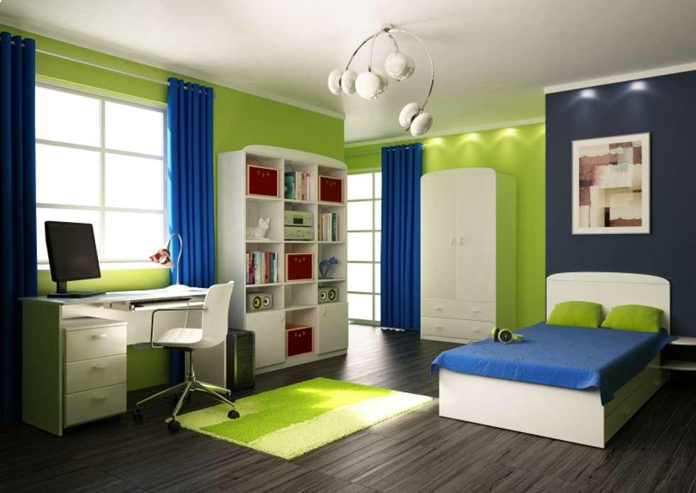 Kinderzimmer Basic: klassische Kinderzimmer von Möbelgeschäft MEBLIK