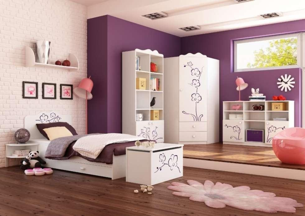 Kinderzimmer Orchidee Lila: klassische Kinderzimmer von Möbelgeschäft MEBLIK