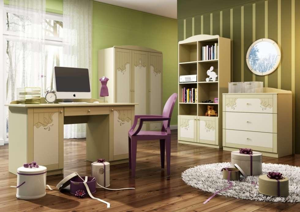 Kinderzimmer Cappucino: klassische Kinderzimmer von Möbelgeschäft MEBLIK