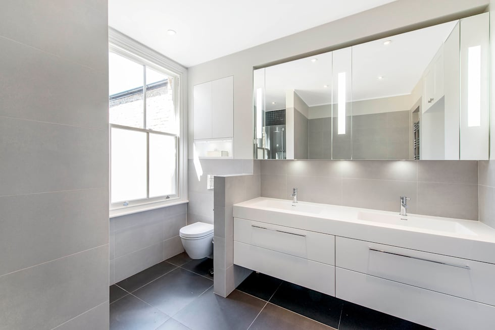 Master Ensuite: modern Bathroom by CATO creative